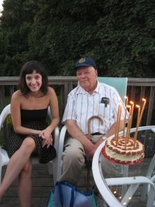 Vic 21th & Dad`s 87th Birthday 014